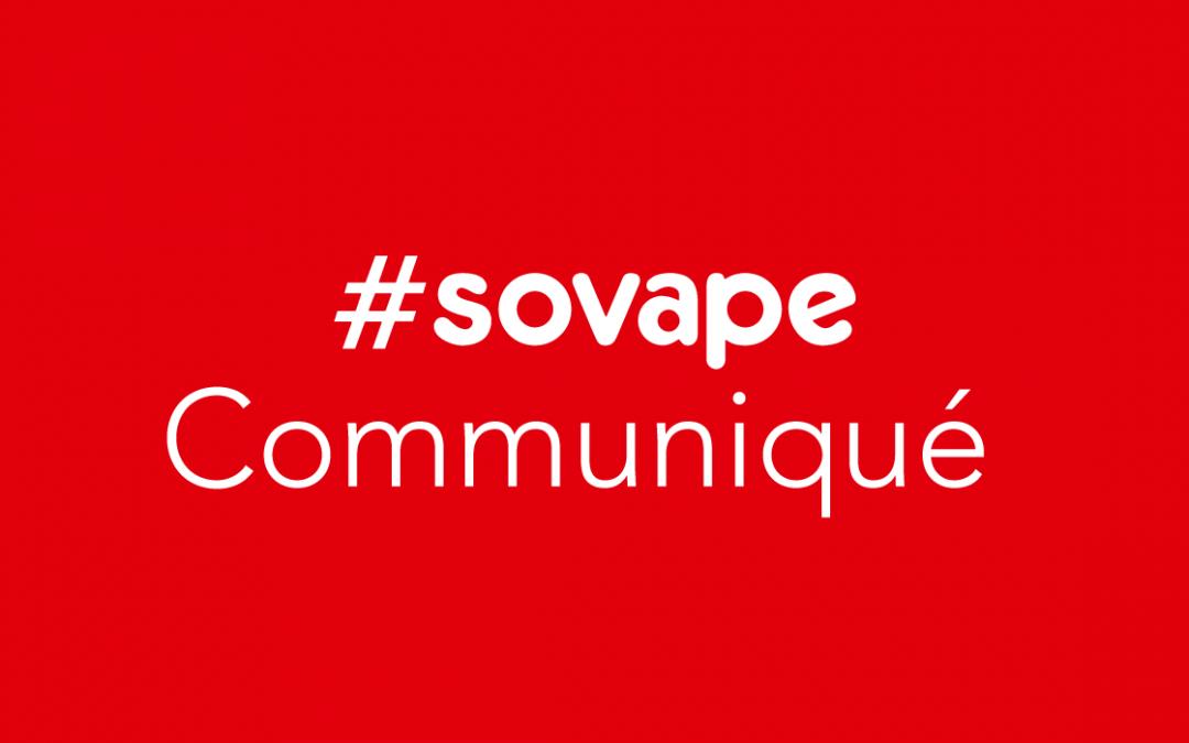 Communiqué SOVAPE du 22 février 2018