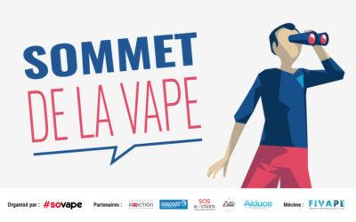 Annonce : 3e Sommet de la Vape le 14 octobre 2019 à Paris