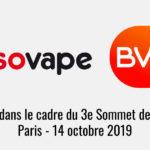 Sondage BVA pour SOVAPE dans le cadre du Sommet de la Vape 2019