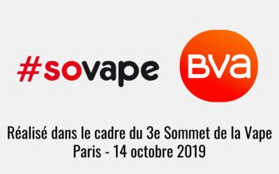 Sondage BVA/SOVAPE – Arrêt du tabac : les français vont-ils se priver de l'outil du vapotage ?