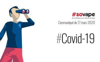 Au nom de la lutte contre le tabagisme et de la guerre contre le COVID-19, les boutiques de vape spécialisées doivent rester ouvertes.