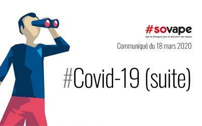 Covid-19 : Autorisation d'ouverture des boutiques de vape spécialisées
