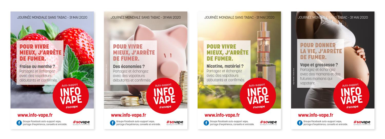 INFO VAPE : journée mondiale sans tabac