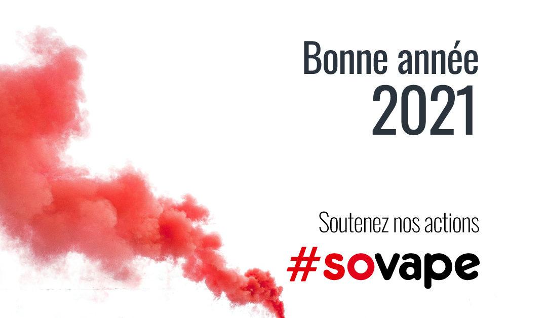 Bonne année 2021 avec SOVAPE